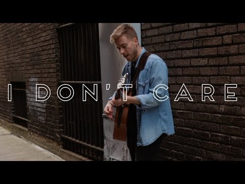 Ed Sheeran & Justin Bieber - I Don't Care (Acoustic Cover)
