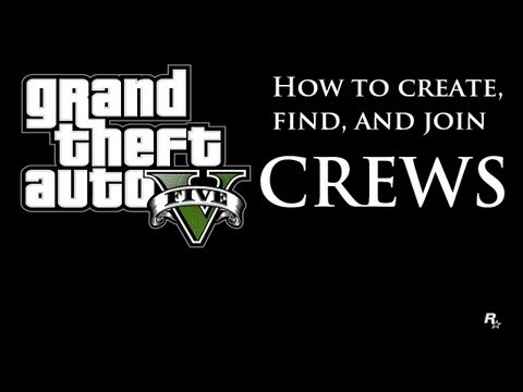 How To Create, Find, And Join Crews On GTA 5 Online