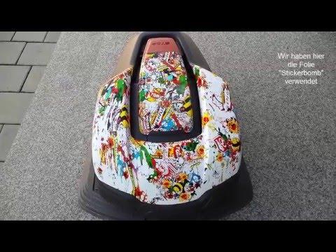 Automower 305 Wassertransferdruck Sticker