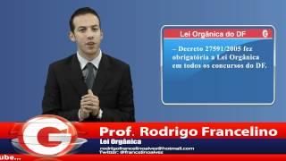 DICA - Lei Orgânica do DF
