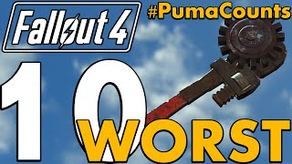 Top 10 Worst Guns and Weapons in Fallout 4 PumaCounts
