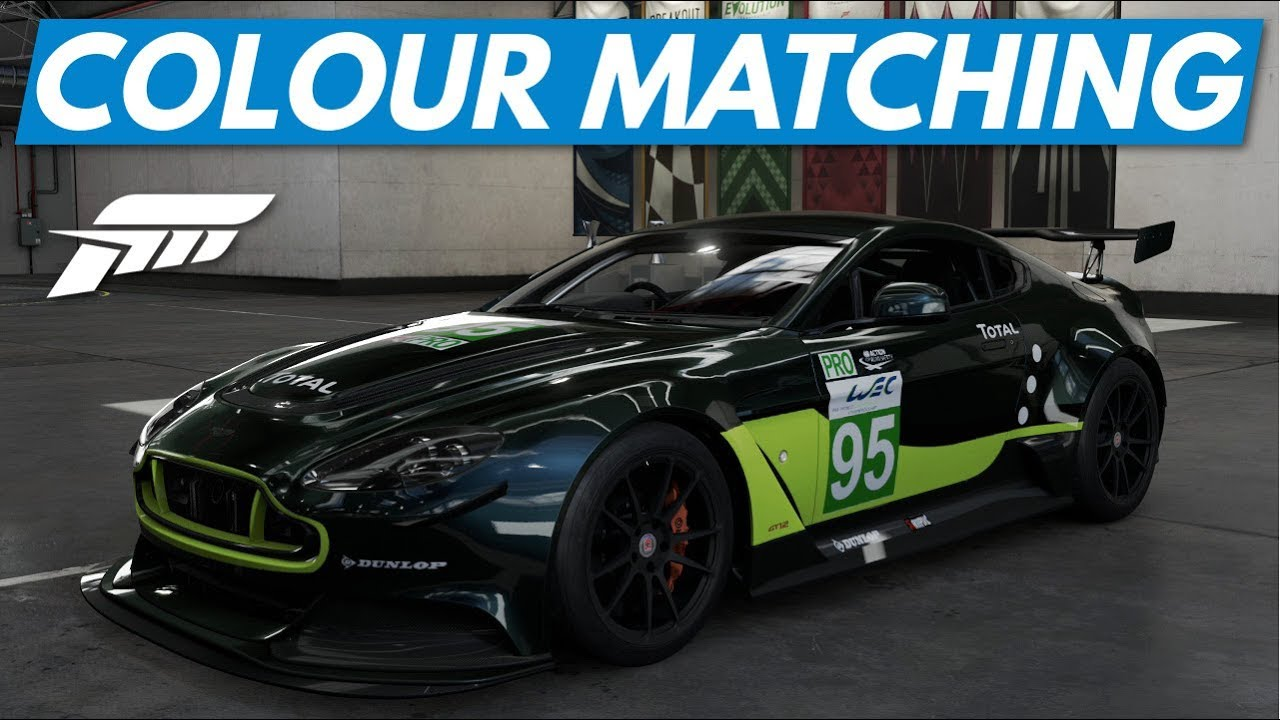 Forza 7│how to perfectly match colours in vinyl livery creator