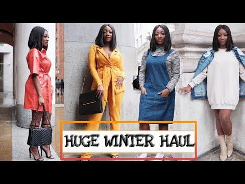 I SPENT £700 ON ASOS, Missguided, PrettyLittleThing, Boohoo & Wearall : HUGE WINTER TRY ON HAUL !!!