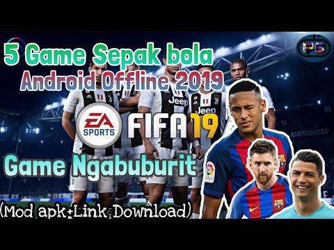 download game sepak bola android offline mod