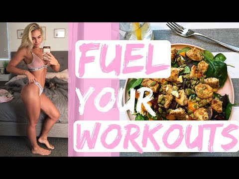 Eat to OPTIMISE my workouts II Day on my plate + Home booty workout