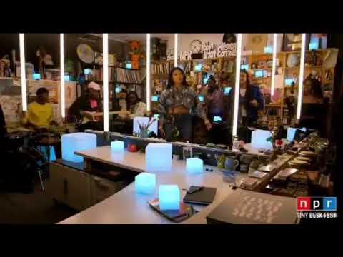 "Megan Thee Stallion ""Fuckin' Around"" Feat. Phony Ppl Live At NPR Tiny Desk Fest"