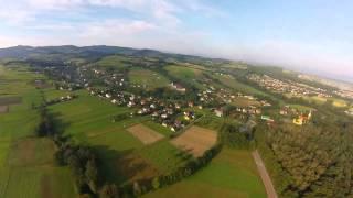 Nawojowa z lotu ptaka DRON