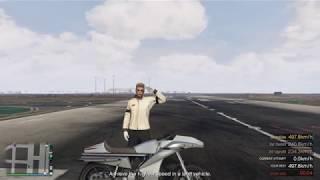 Highest Speed Challenge 497.8 km/h | GTA Online