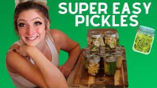 Easiest Pickle Recipe!!!  Irene Walton