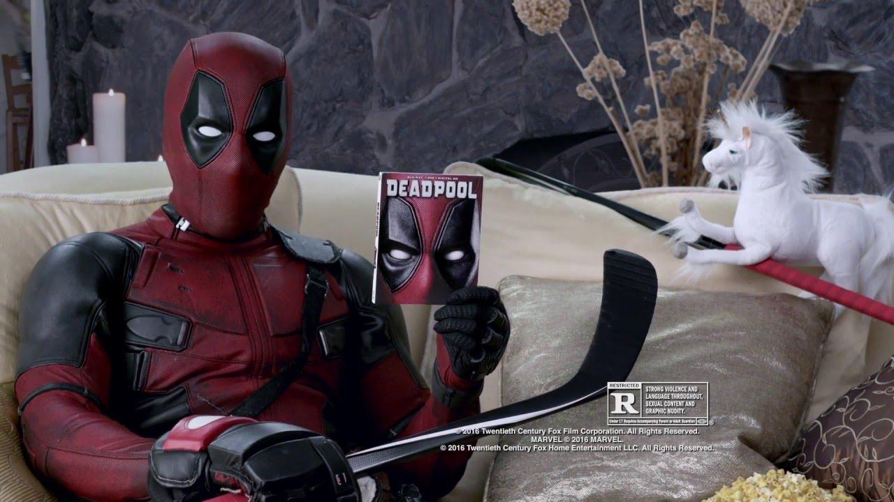 Download Deadpool (2016) - Blu-ray Promo Clip 'Death By Zamboni' (VO)
