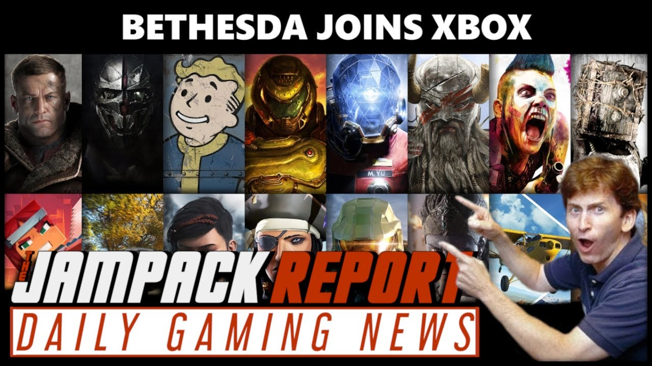Download Bethesda Officially Joins Team Xbox   The Jampack Report 3.10.21