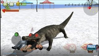 Wild Crocodile Simulator / Crocodile Attack / Android Gameplay Video
