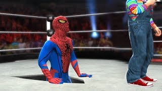 SPIDERMAN VS CHUCKY - HELL IN A CELL MATCH