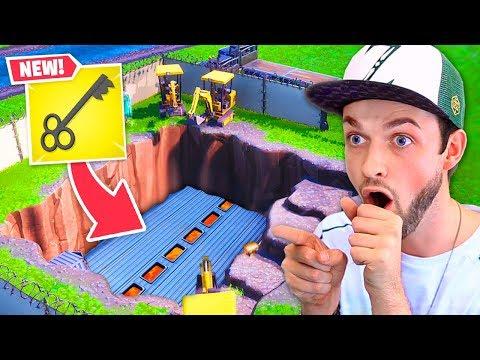 *NEW* SECRET bunker OPENED in Loot Lake!