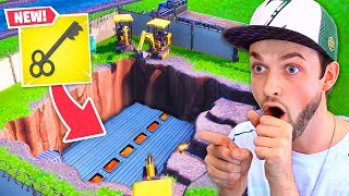 *NEW* SECRET bunker OPENED in Loot Lake!