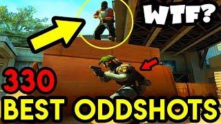 1 IQ CLUTCH *WTF* - CS:GO BEST ODDSHOTS #330