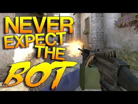 CS:GO - Never Expect The BOT! #3