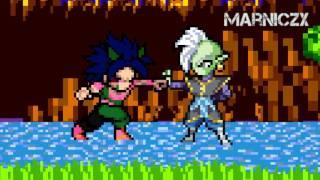 Zamasu fights (Bizarro) Xicor