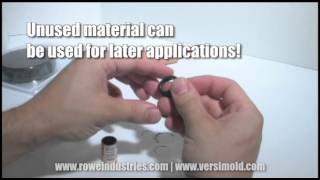Versimold - Moldable rubber for custom gaskets, grommets, insulation, and more!