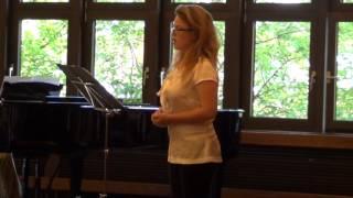 Ridente la Calma -canzoneta by W.A.Mozart K.152/ singer: Rotem Kidron July 2013