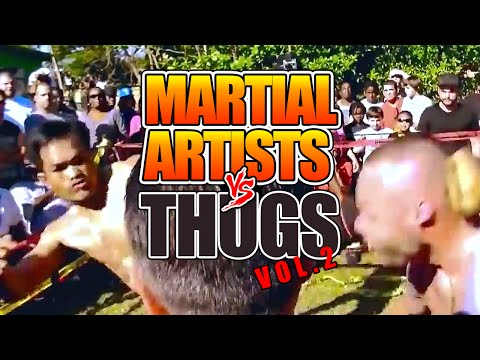 MARTIAL ARTISTS vs THUGS 2 - STREET FIGHT Compilation