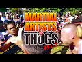 MARTIAL ARTISTS vs THUGS 2 STREET FIGHT Compilation