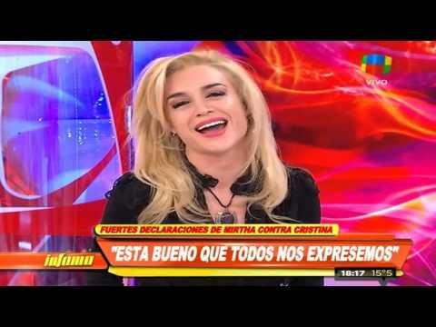 Fátima Florez y su desopilante show de imitaciones