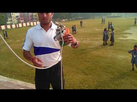 Indian flag binding and hosting Learn- How to tie a flag knot. indian flag hosting