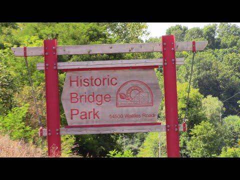 Historic Bridge Park, In Battle Creek, MI