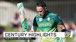 Du Plessis thwarts Aussies with 10th ODI ton