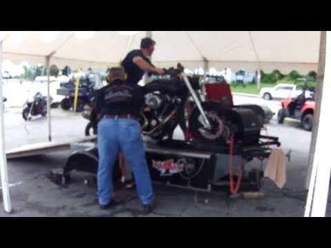 Confederate motorcycle dyno run