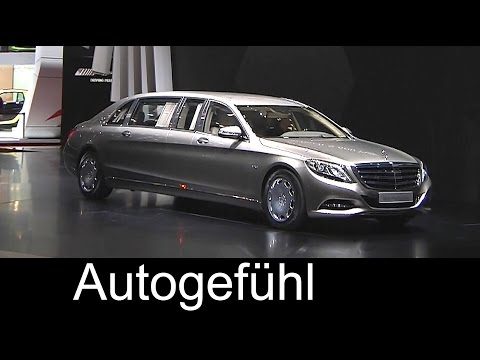All-new Mercedes-Maybach S600 Pullman reveal by Daimler CEO – Autogefühl