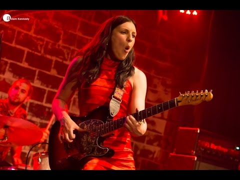 Dani Wilde 'Mississippi Kisses' Live at Kofferfabrik, Germany  2015