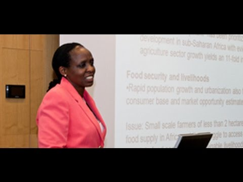 Public lecture with Agnes Kalibata on Africa on the move