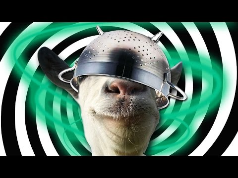 Goat Simulator GOATZ - MIND CONTROL - Part 3 - Goat Simulator Zombie Gameplay | Pungence