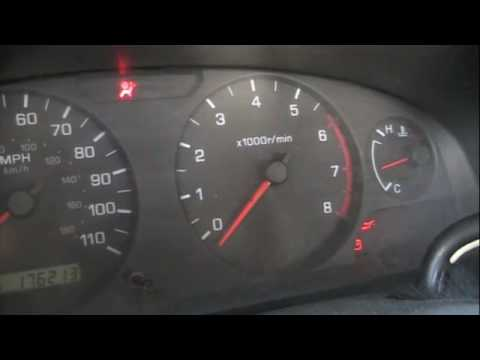 Nissan tach reset - YouTube