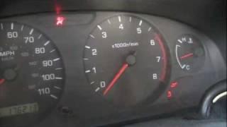 Nissan tach reset
