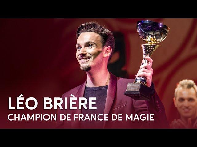 Léo Brière  - Champion de France de Magie 2019 | Paris Première