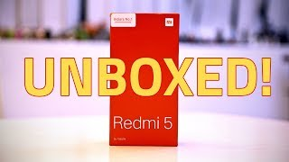 Xiaomi Redmi 5 Unboxing and First Look | Specs, Camera, Features, and More thumbnail