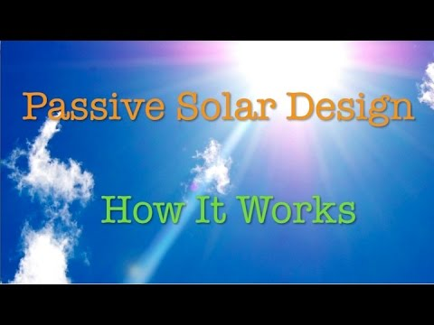 Passive Solar Design - How it works in your home