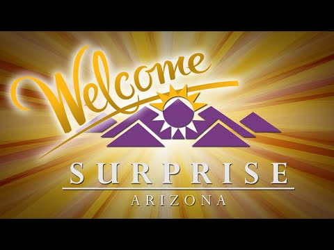 Welcome to Surprise Arizona video thumbnail