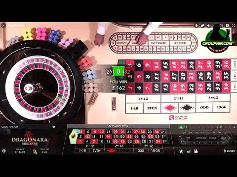 Live Casino Roulette Direct from Dragonara Casino in Malta Real Money Play at Mr Green Online Casino