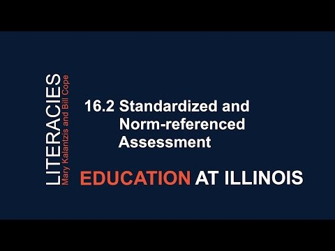 16.2 Standardized and Norm-referenced Assessment