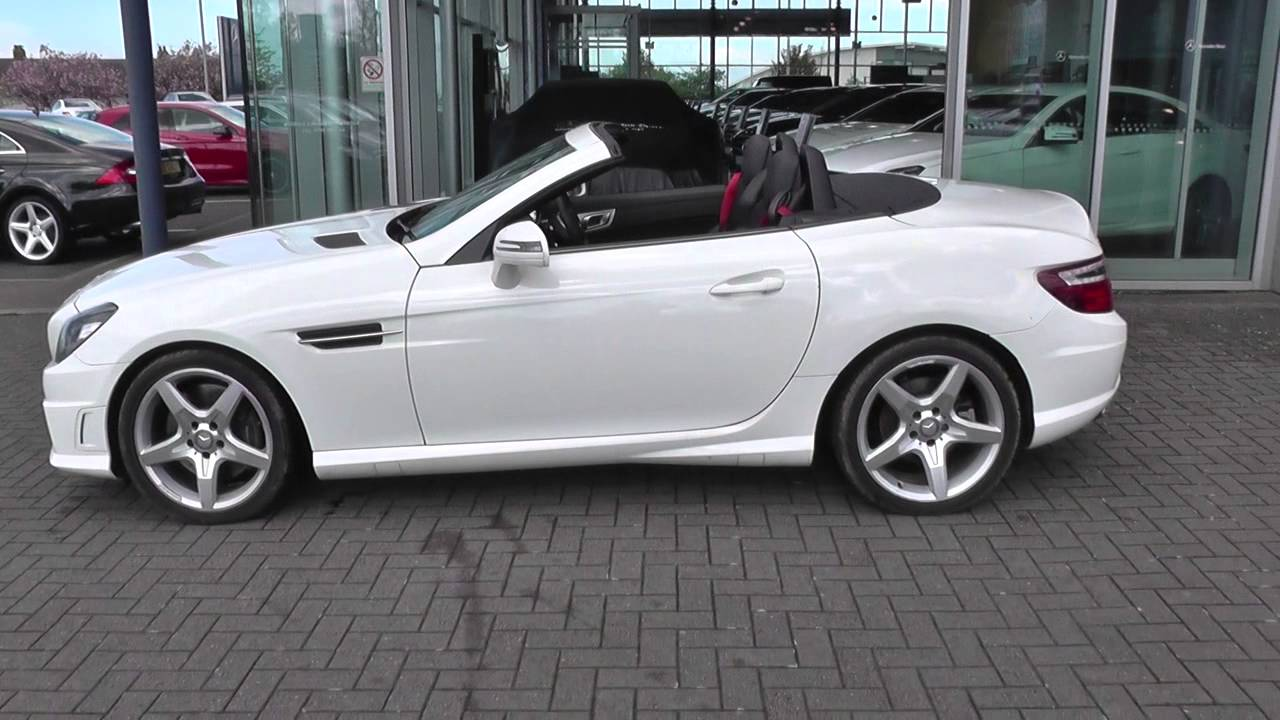 mercedes benz slk 250 cdi blueefficiency amg sport 2dr tip auto u25297 youtube. Black Bedroom Furniture Sets. Home Design Ideas