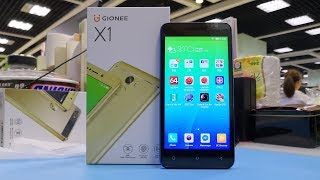 GIONEE X1 Unboxing amp Quick review Video