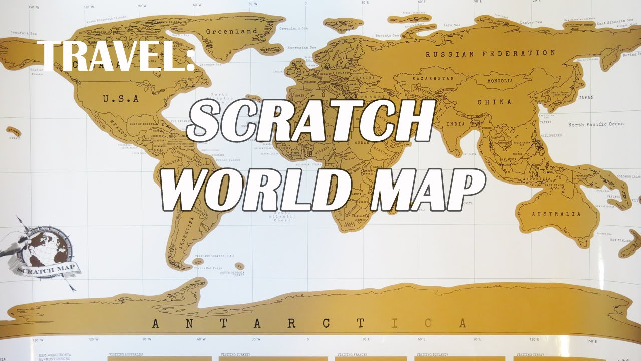 Travel scratch world map youtube gumiabroncs Gallery
