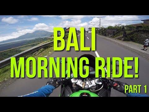 Morning Ride di Denpasar, Bali PART 1! - #65 Gass ke Kintamani! NO MACET & ADEM! (Ft. MotoRun Bali)