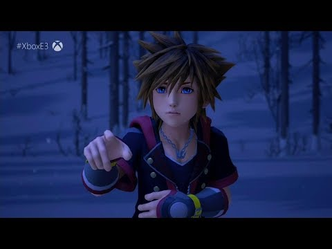 Kingdom Hearts 3 Square Enix Showcase Trailer - E3 2018