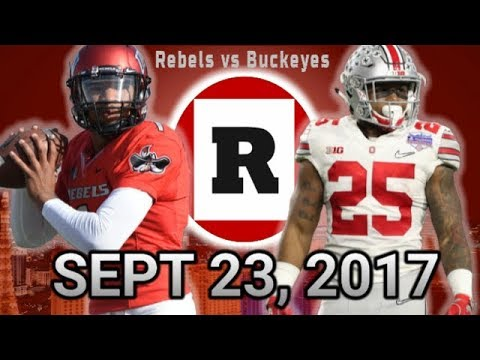 UNLV Football 2017 GAME 3 - Ohio State Preview