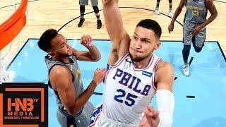 Philadelphia Sixers vs Memphis Grizzlies Full Game Highlights | 11.10.2018, NBA Season